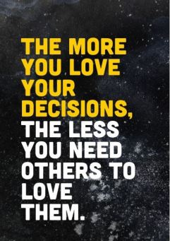 the more you love your